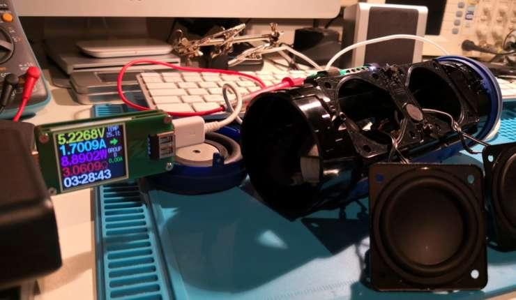 Réparation haut-parleur